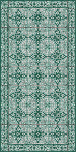 Adama Spanish Mat  -  Turquesa 4 colors