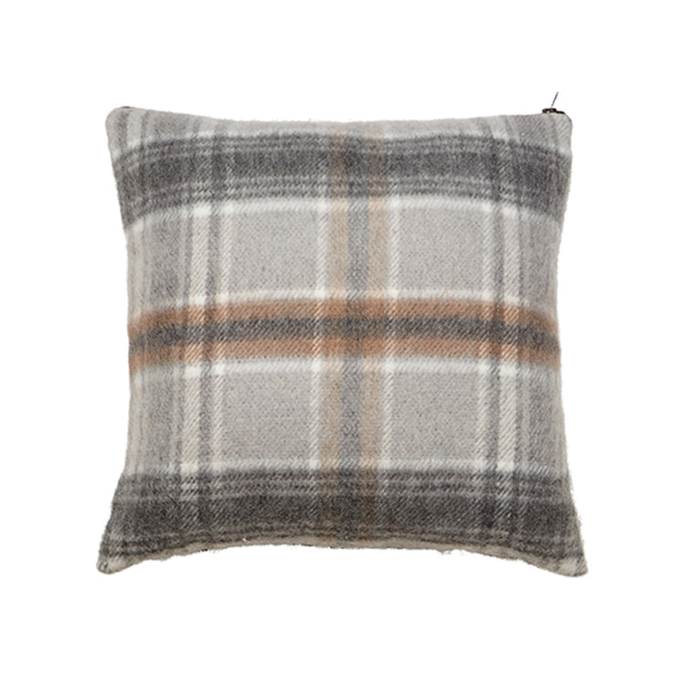 Flannel Check Cushion