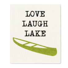 Load image into Gallery viewer, Swedish Dishcloth - Love Laugh Lake
