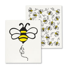 Load image into Gallery viewer, Swedish Dishcloth - Bees