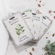 Load image into Gallery viewer, Peony & Olive Leaf Milk Bath Sachet
