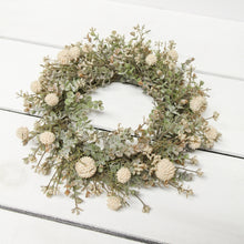 Load image into Gallery viewer, Cream Fall Garden Wreath
