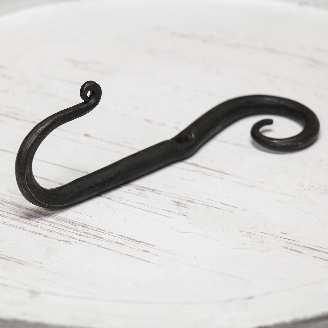 Hand Forged Stem Hook