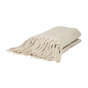 Nordic Cream Throw