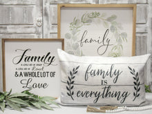 Load image into Gallery viewer, Family Wreath Sign