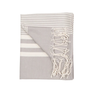 Turkish Hand Towel - Harem/Silver