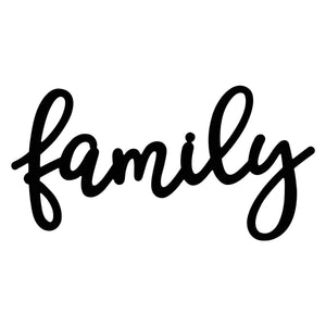 Large Family Sign <br/> (Pick Up Only)
