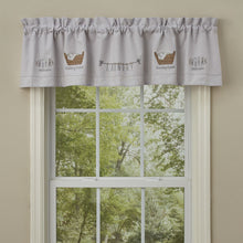 Load image into Gallery viewer, Laundry Embroidered Lined Valance