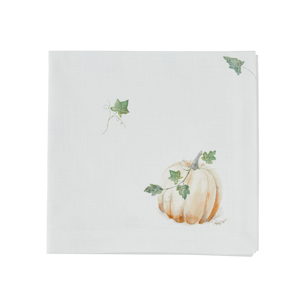 Watercolour Pumpkin Napkin