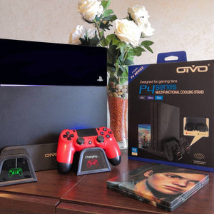 OIVO Regular PS4, PS4 Slim and PS4 Pro Cooling Stand Review