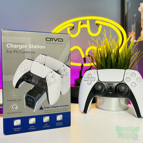 PS5 Dual Controller Charger Docking Station for PlayStation 5 Controller