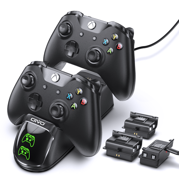 Charger for Xbox One/S/X/Elite Controller with 3 Packs Batteries