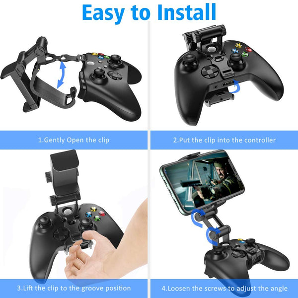 Controller Clip Mount Compatible with Xbox Series X/S Controller