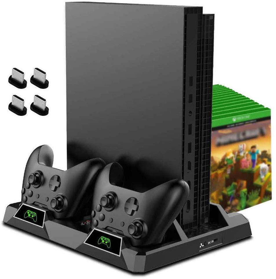 Vertical Cooling Stand for Xbox One/S/X-Black
