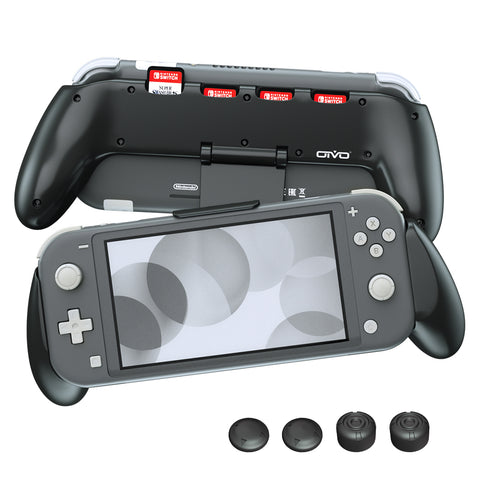 Grip for Nintendo Switch Lite-Black