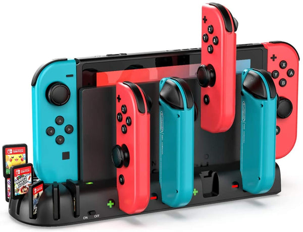 KDD Controller Charger Dock Station Compatible with Nintendo Switch