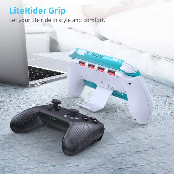 Grip for Nintendo Switch Lite- White