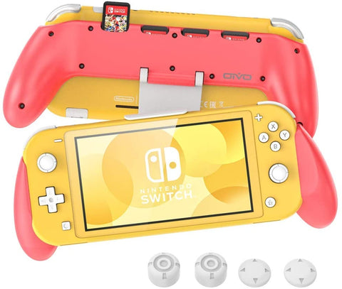Grip for Nintendo Switch Lite- Pink