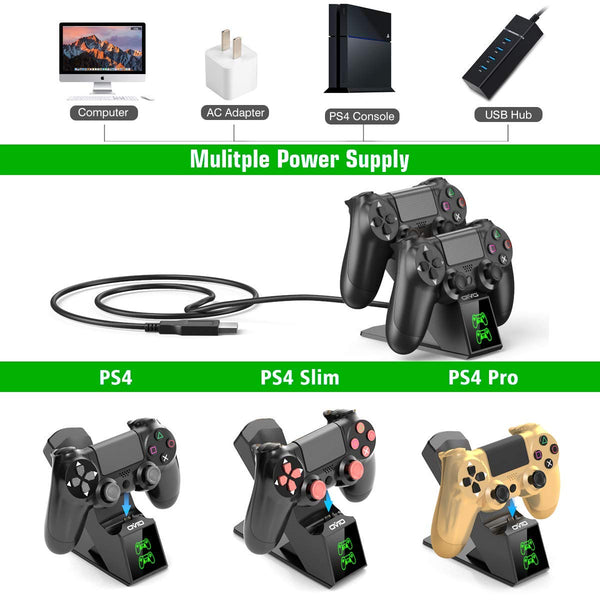 PS4 Controller Charger for Playstation 4 Controller