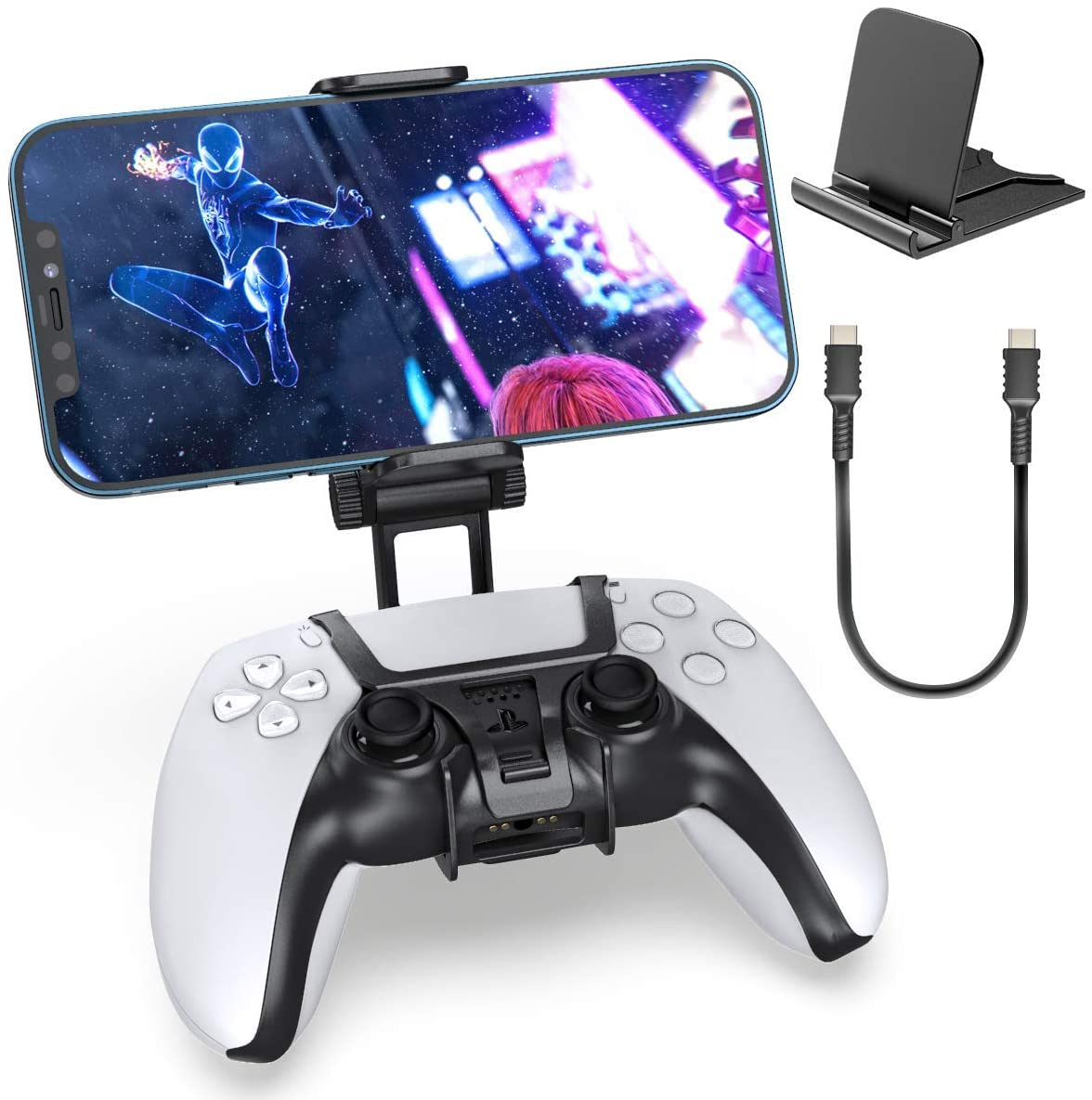 PS5 Controller Phone Remote Play Clip