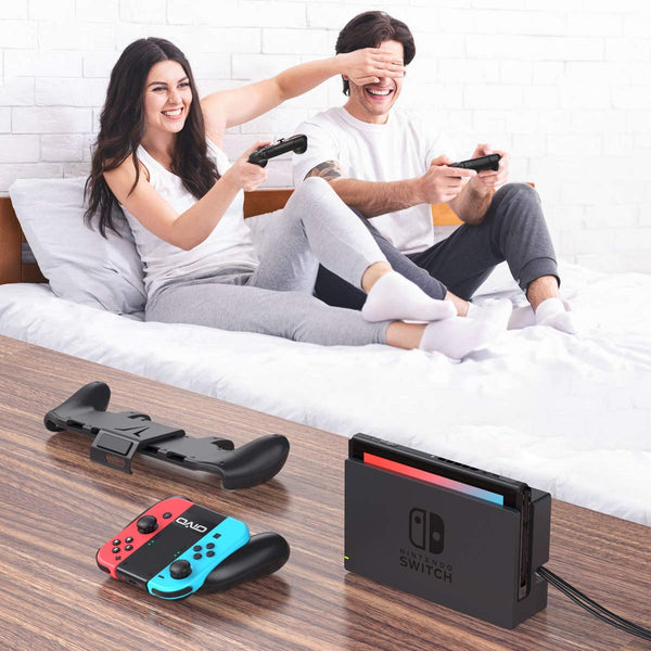 Switch Grip Bundle Accessories Kit for Nintendo Switch