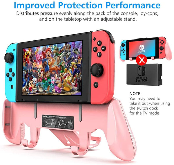 Switch Grip for Nintendo Switch-Pink