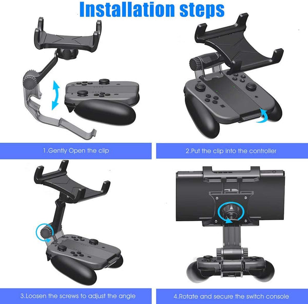 Switch Joy-Con Grip Clip Mount for Nintendo Switch