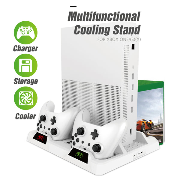 Vertical Cooling Stand for Xbox One/S/X-White