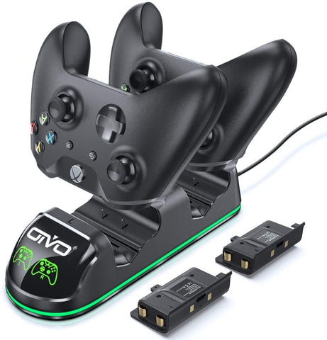 Xbox One Controller Charger with 2 Rechargeable Battery Packs