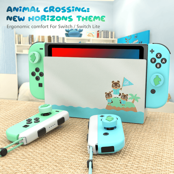 Switch Thumb Grips Animal Crossing Theme