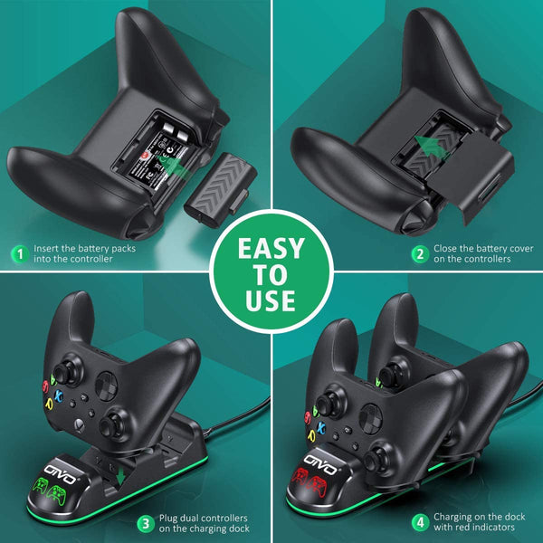 Controller Charger for Xbox Series & One S/X/Elite Controller