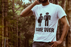 Game Over funny T-Shirt for Father