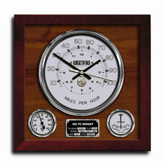 MG TC MIDGET Wall Clock