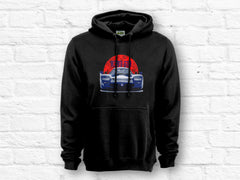 Nissan R390 GT1 Red Japan Flag Hoodie