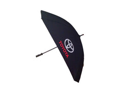 Toyota New Square Black Golf Umbrella