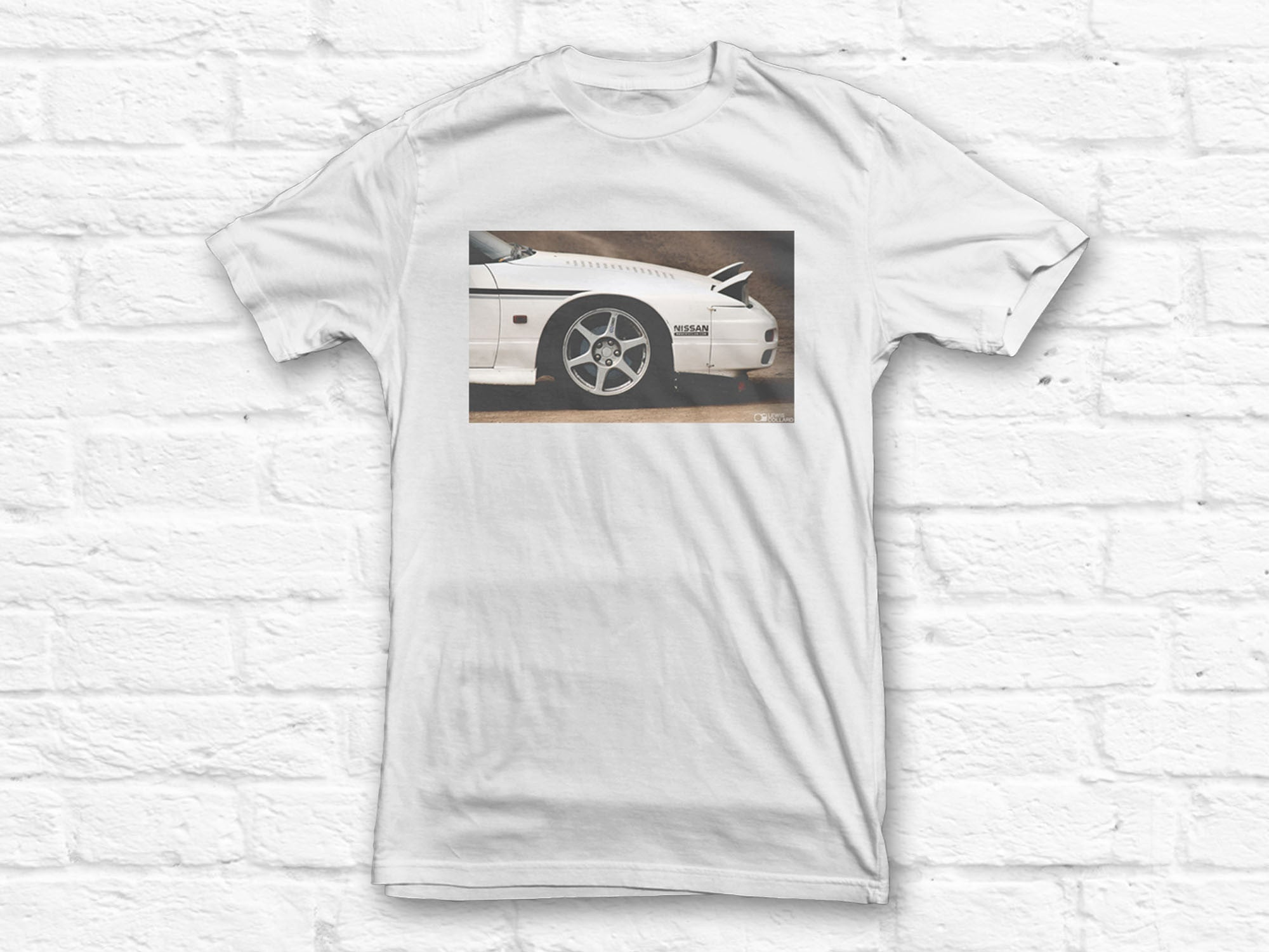 Men's Nissan 240SX Front Wing T-Shirt
