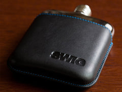 'SWIG Executive Moulded Black' Hip Flask