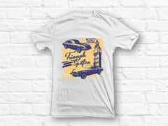 Triumph Spitfire from 1962 Classic Car T-shirt