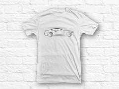 Ford Mustang Car Outline T-shirt