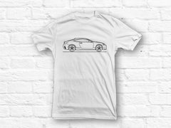 Lexus RC 20016 Car Outline T-shirt