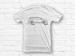 Ford Focus RS Outline White T-shirt