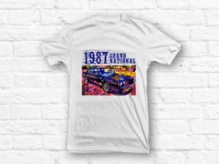 Buick 1987 Grand National Car Abstract T-shirt