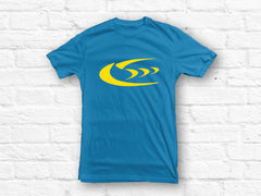 Subaru Triple Five Logo Blue T-shirt size L - SALE