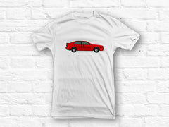Audi Quattro Red Car T-shirt
