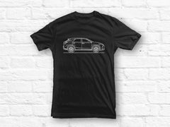 Lexus RX 2016 Car outline T-shirt