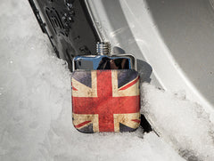 'SWIG Executive Moulded Union Jack' Hip Flask
