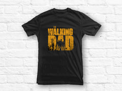 Walking Dad with adult Son and teenage Daughter T-shirt