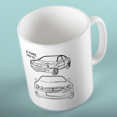 Jaguar X-Type Mug