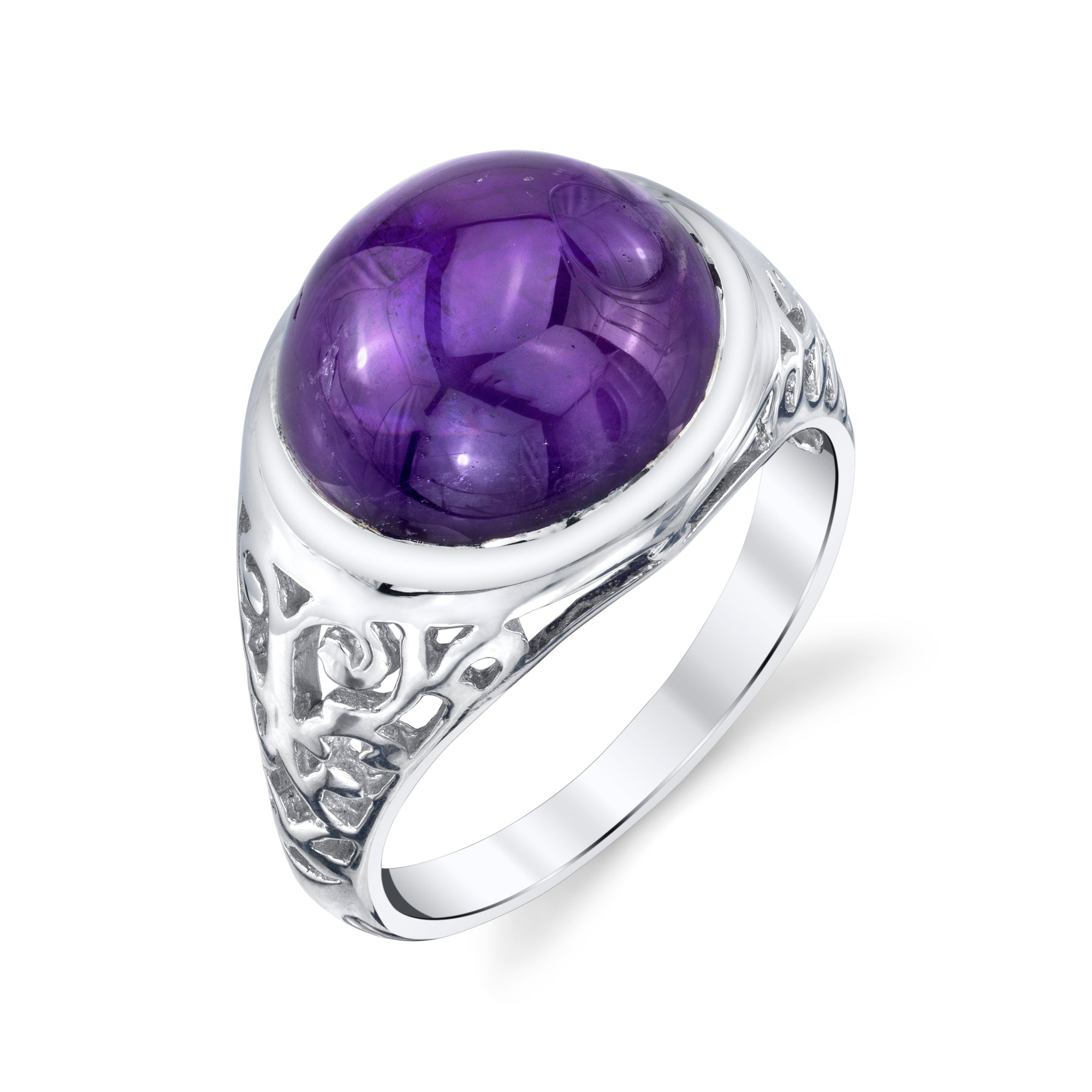 Intricate Cabochon Ring