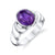 Men's Wave Cabochon Ring